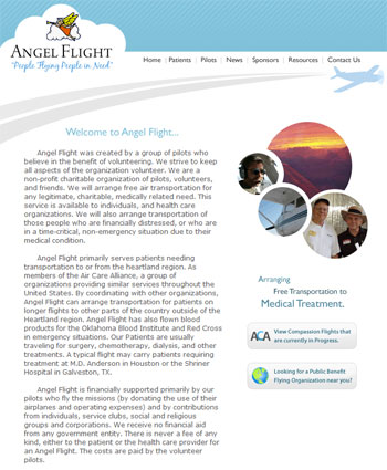 Angel Flight Website