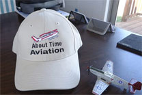 About Time Aviation Baseball Hat