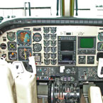 Beechcraft King Air Cockpit